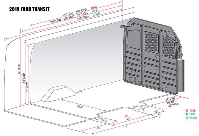 Ford full size transit interior autos weblog