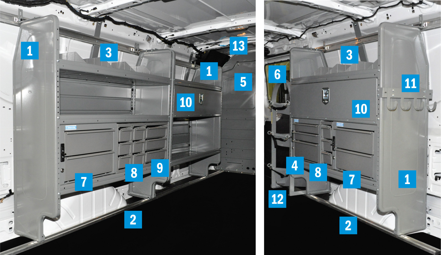 Plumbing Amp Hvac Starter Package Gray Transit Low Roof 130 Quot
