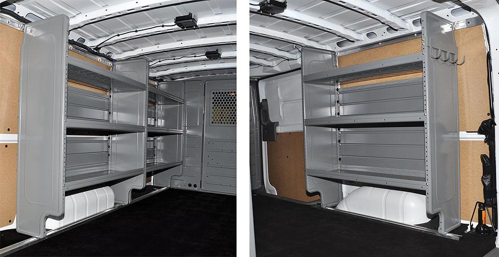 Cargo Management System Nissan Nv Std Roof