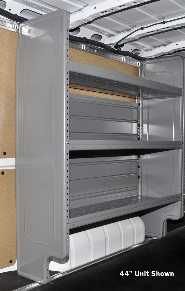Adjustable 3 Shelf Unit Gray
