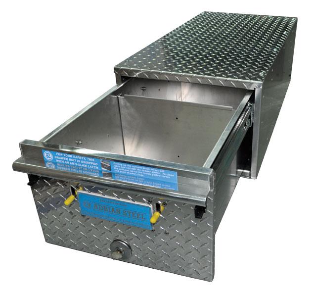 Aluminum Floor Drawer