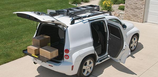 Hhr Shelving Hhr Accessories Chevrolet Hhr Panel Van By