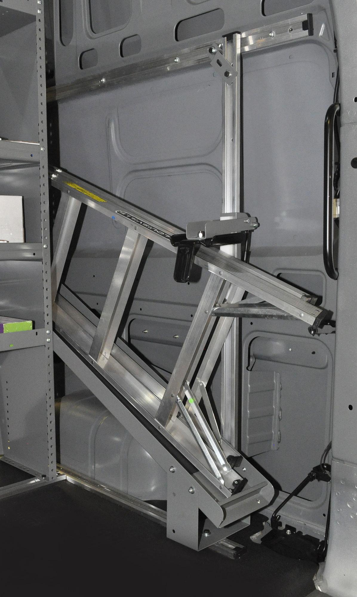 Interior Ladder Storage