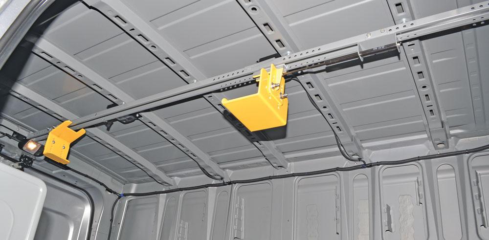 Ceiling Ladder Holder 7 Max Gray Nv