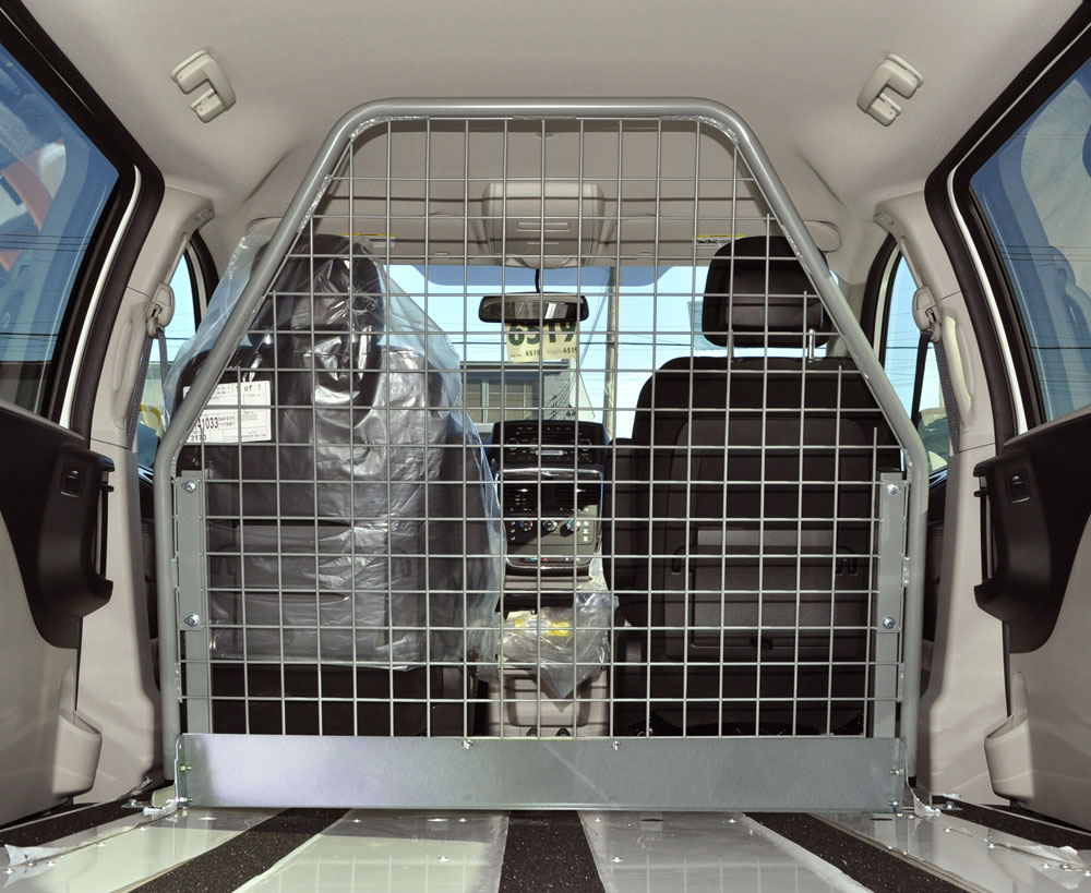 J&B can upfit your van with an Adrian Steel Partition By installing a van bulkhead, you are designating a cargo area in your van. Keeping your equipment in one place makes it easier for you to find the tool or item you're looking for. For more information regarding this line of van partitions please call our sales team at 800-330-1229.