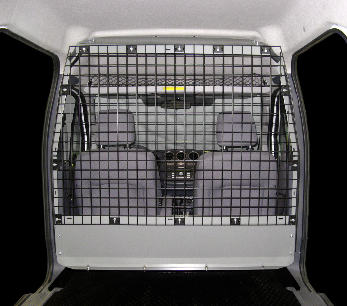 Partitions Jb Truck Body Inc 2007 Dodge Grand Caravan Minivan Wiring Diagram Can Upfit Your Van With An Adrian Steel Partition By Installing A Bulkhead