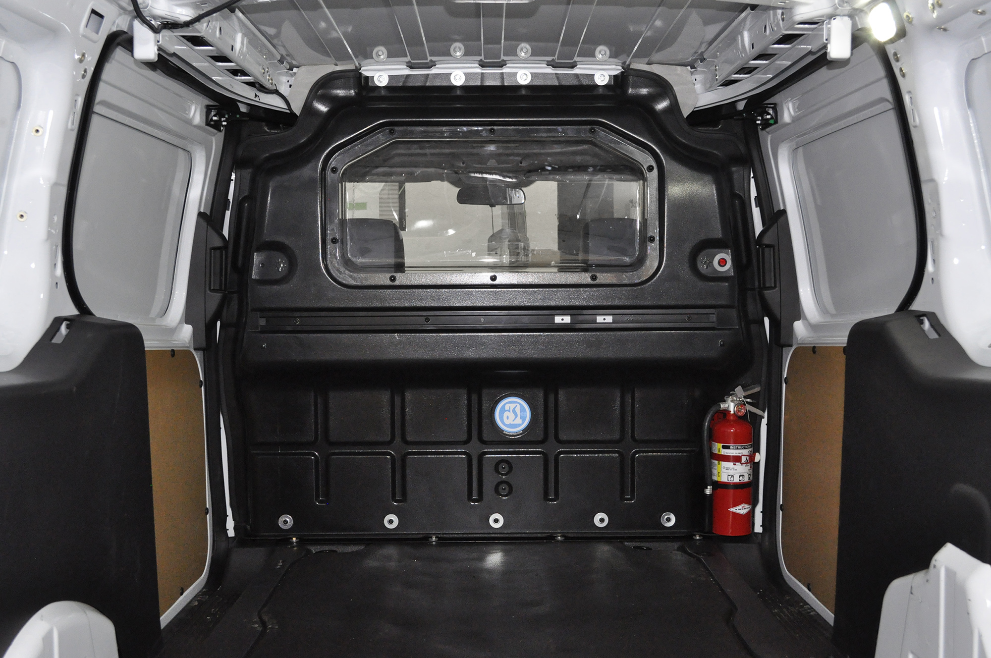 2016 Ford Transit >> Composite Partition with window, Transit Connect