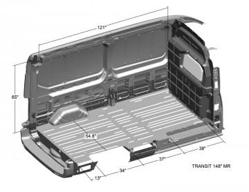 Ford Transit Dimensions >> Van Interior Dimensions