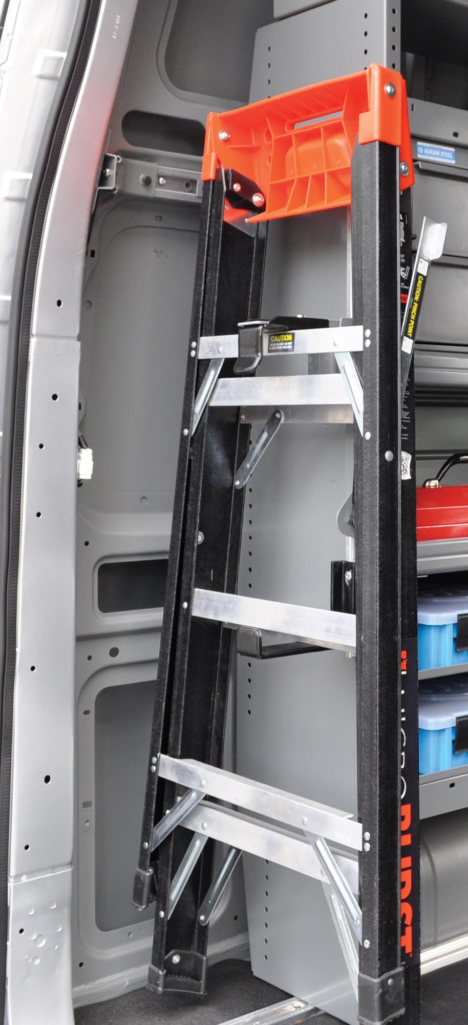 Interior Ladder Rack