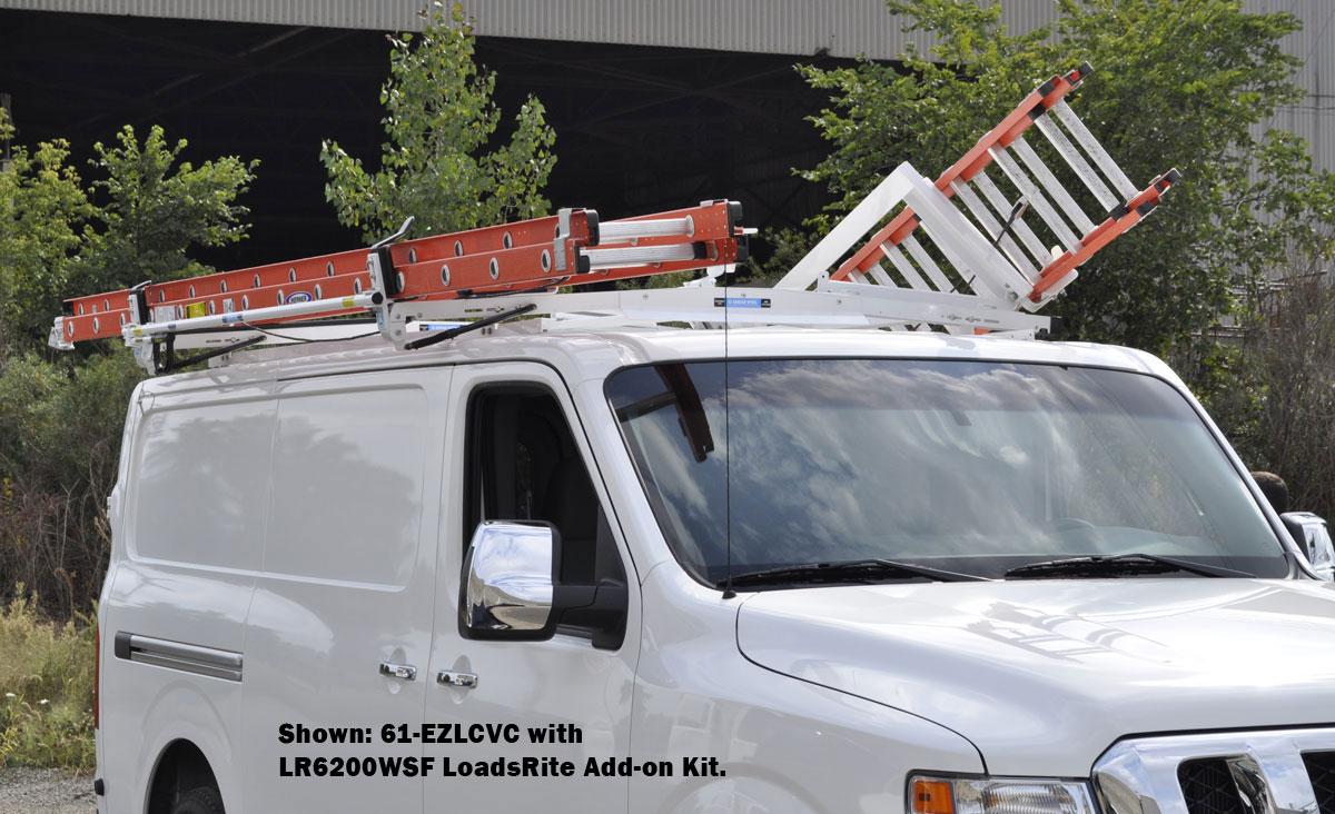 adrian steel ladder rack installation