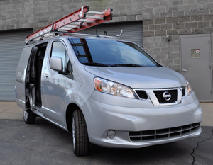 Nissan NV200, products by Adrian Steel