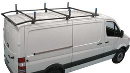 Topper Hot Dip Galvanized 10 Cargo Carrier Rack For The Nissan Nv High Roof Van