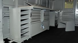Cargo Van Equipment Amp Accessories Adrian Steel