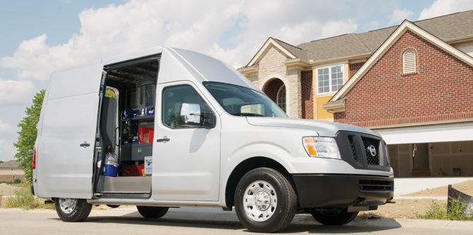 Adrian Steel Is Official Upfitter For The Nissan NV Cargo.