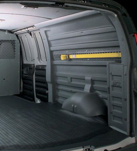 Poly Protecto Van Liner Kit Gm Lwb 2014 Prior
